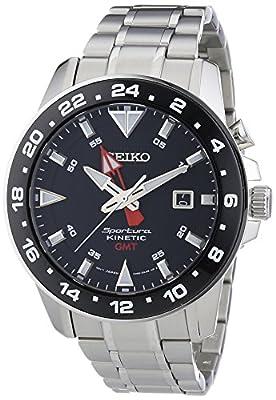 Seiko Reloj de Cuarzo para Hombre con Correa de Acero Inoxidable – SUN015P1