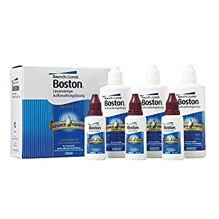 Bausch & Lomb Boston Advance Multipack, 3 x 30 ml Reiniger plus 3 x 120 ml Aufbewahrung, inclusive Behälter