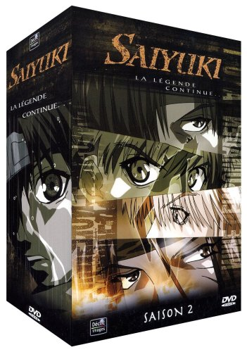 Saiyuki - Coffret 5 DVD - Partie 2 - 24 épisodes VOSTF