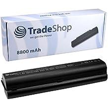 Trade-Shop - Batería de recambio (8800 mAh, compatible con los modelos HP 484170-001, 484170-002, 484171-001, 485041-001, 485041-003, 487296-001, 487354-001, 497694-001, 498482-001, EV06055, HSTNN-IB79, HSTNN-Q34C, HSTNN-Q38C, HSTNN-C51C, HSTNN-W51C, HSTNN-C52C)