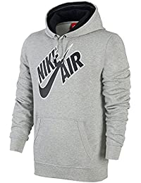 Nike Homme Sweats à capuche Mens Hoodie Pivot Hooded Top Basketball Hooded Sweatshirt Black/Grey S M L XL New 612875