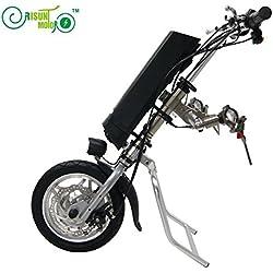 36V 250W de accionamiento silla de ruedas eléctrica kit kits de conversión de bricolaje con 36V 9AH Li-ion