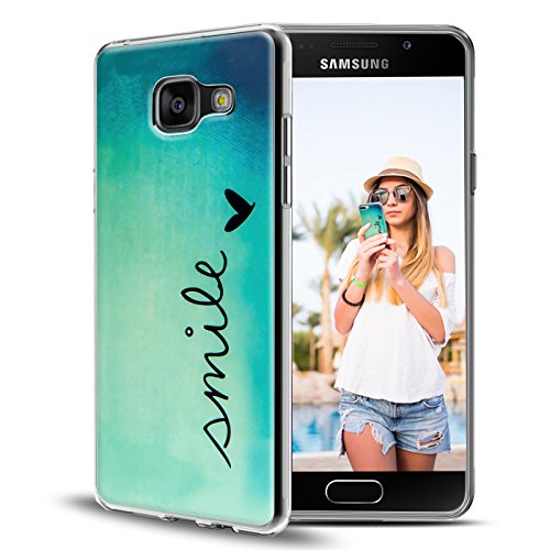 Handy Tasche Samsung Galaxy A3 2016 A310 Schutz Hülle Silikon Cover Back Case