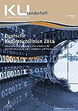 Deutsche Kodierrichtlinien mit MDK-Kommentierung 2016: KU Sonderheft