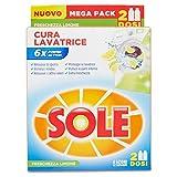 Sole Cura Lavatrice Freschezza Limone, Confezione con 2 Flaconi da 250 ml