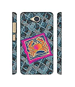 NattyCase Cancer Zodiac Pattern Design 3D Printed Hard Back Case Cover for Gionee S6 Pro
