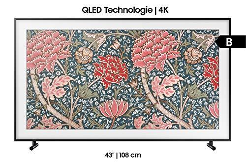 Samsung LS03R The Frame 108 cm (43 Zoll) QLED Lifestyle Fernseher (Art Mode, Ultra HD, HDR, Smart TV) [Modelljahr 2019]