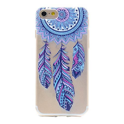 iPhone 6 Plus Case, Per Apple iPhone 6s Plus Cover Silicone Personale, Asnlove Custodia Crystal Case 3D Flessible TPU Silicone Lucida Trasparente Bumper Gomma Caso Stilosa Custodia di Design in Morbid Color8