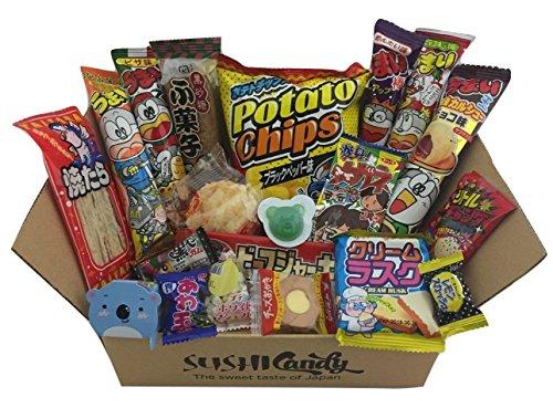 20 Dulces japoneses DAGASHI OCTUBER set regalo con caramelo para los niños width=