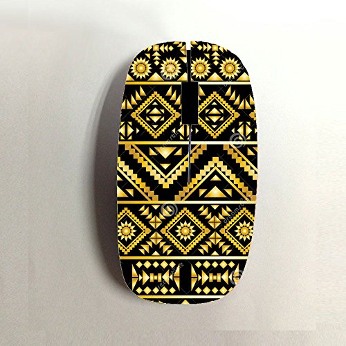 Generic For Boys Usb Wireless Mouse Pc Printing Aztec 1 - Mouse Wireless Pink Hot
