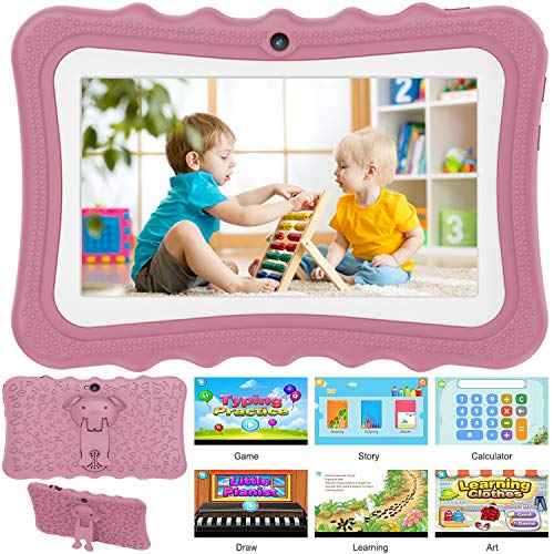 kids tablet 7 Pollici Tablet per Bambini Android 6.0 Tablet PC con Quad Core
