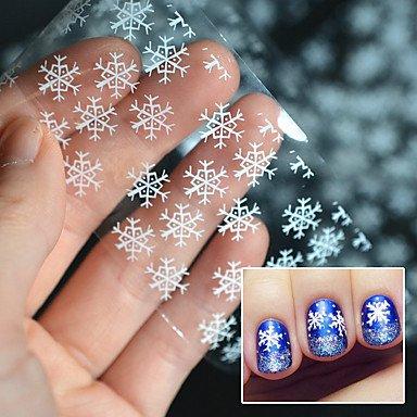 MZP 1PC Autocollant d'art de clou Autocollants 3D pour ongles Bande dessinée Adorable Maquillage cosmétique Nail Art Design