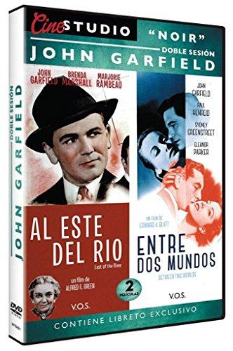 Doble Sesión John Garfield: Al Este del Rio + Entre dos Mundos (East of the River + Between Two Worlds) V.O.S. - John Garfield