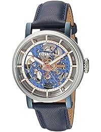 f547212093b9 Fossil Women s Original Boyfriend ME3136 Blue Leather Automatic Fashion  Watch