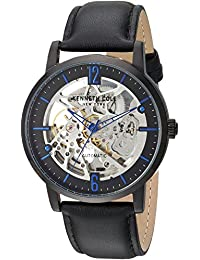 278c10b3026 Kenneth Cole New York Men s Analog Automatic-self-Wind Watch with Leather  Strap KC50054002