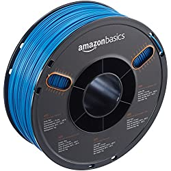 AmazonBasics – Filamento de ABS para impresora 3D, 1,75mm, Azul, bobina de 1kg