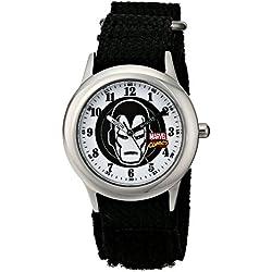 Marvel Kids' The Avengers Iron Man W001545 Analog Display Analog Quartz Black Watch