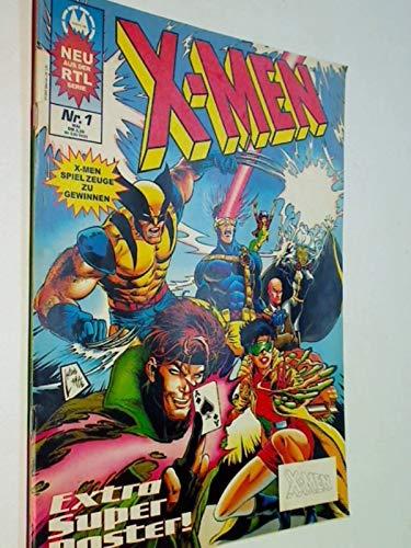 X-Men Nr. 1 , Mai 1994, Marvel Comics UK Ltd , Comic-Magazin, ERSTAUSGABE - Wolverine Marvel Comics