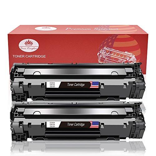 Toner kingdom 2 cartuccia di toner compatibile hp 85a ce285a per hp laserjet pro p1102 p1102w p1104 p1104w p1106 p1108 p1109w m1130 m1132 m1132mfp m1134 m1134mfp m1136 m1136mfp m1210 m1210mfp m1212 m1212nf m1213nf m1217nfw