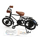 #6: Dungri ® Home Decor Black Handmade Iron cycle Home Decor gift Decoration Miniature Of Metal Cycle / Bicycle