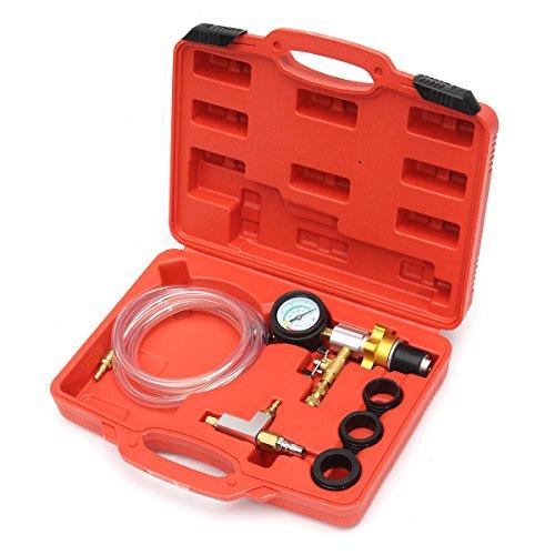 Plat Firm Kit de jauge Outil de Remplissage de Purge de Systã¨Me de Refroidissement sous Vide de Liquide de Refroidissement de radiateur de Voiture