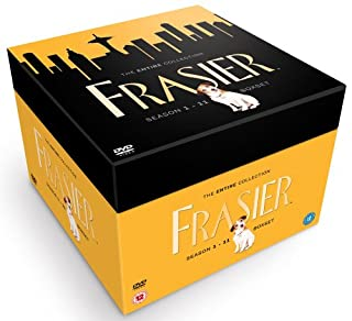 Frasier Complete Collection (Series 1-11) [DVD] (B001CO5U62) | Amazon price tracker / tracking, Amazon price history charts, Amazon price watches, Amazon price drop alerts