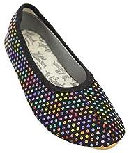 Beck Punkt Multi, Chaussures de Gymnastique Fille, Noir (Schwarz 02), 35 EU