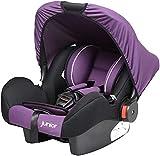 Kinderschalensitz Bambini Schalensitz Baby Sitz in Lila schwarz 905 HDPE nach ECE R44/04