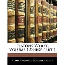 Platons Werke, ERSTER THEIL
