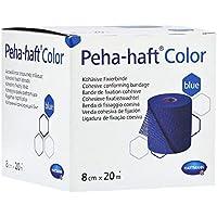 PEHA-HAFT Color Fixierbinde 8 cmx20 m blau 1 St Binden preisvergleich bei billige-tabletten.eu