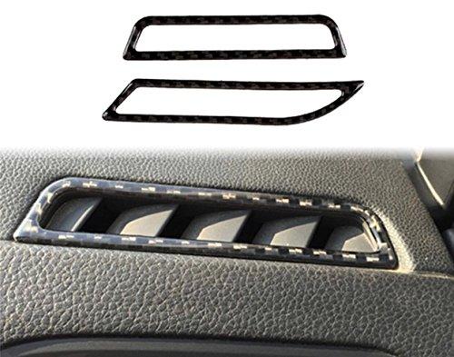 Preisvergleich Produktbild Emblem Trading Luftdüsen Lüfter Rahmen Blende Flex Carbon Optik