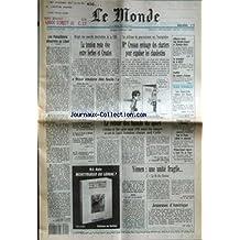 MONDE (LE) [No 14445] du 09/07/1991 - LA TENSION RESTE VIVE ENTRE SERBES ET CROATES - NOUS VOULONS DES FUSILS ! PAR MARIE-PIERRE SUBTIL - MME CRESSON ENVISAGE DES CHARTERS POUR EXPULSER LES CLANDESTINS PAR PATRICK JARREAU ET D'ALAIN ROLLAT- ALLIANCE ENTRE CAP GEMINI SOGETI ET DAIMLER-BENZ - LE SCANDALE DE LA BCCI - CODIFIER LES VENTES D'ARMES - LES ETATS-UNIS CONTRE LES DOUZE - LE RETOUR DES BANNIS DU SPORT PAR FREDERIC FRITSCHER- TRIOMPHE ALLEMAND A WIMBLEDON PAR DOMINIQUE LE GUILLEDOU