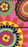 Das Papier Company Pfefferstreuer French bull-pink Paisley Jolly jots Note Pad, 3x 12,7cm Spiralbindung mit Schnappverschluss (63-8196)