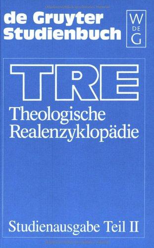 Theologische Realenzyklopädie, Tl.2, Katechumenat/Katechumenen-Publizistik/Presse, 10 Bde. u. Reg.-Bd. (De Gruyter Studienbuch)