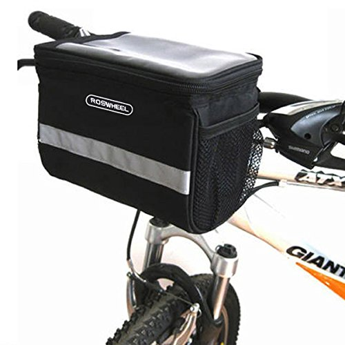 Lixada Fahrrad Packtaschen Vorne Rahmen Rohr Lenker Tasche