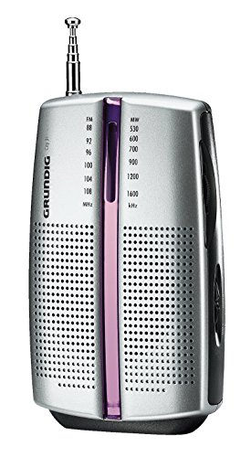 Grundig City 31 Tragbares Radio (UKW-/MW-Tuner) chrome - 3