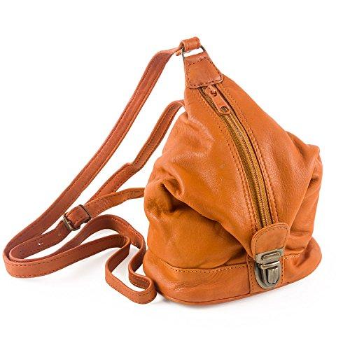 LE SABBI in pelle cerata Mini Bag Kite colori Multicolore (Tan)