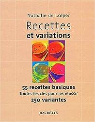 Recettes et variations
