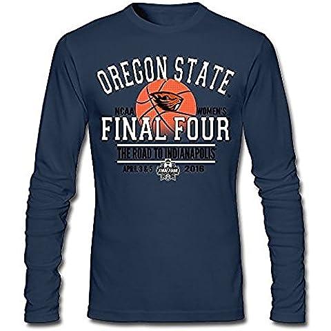 Men's Oregon State Beavers 2016 NCAA Tounament Final Four Long Sleeve T Shirt