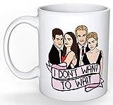 Dawson's Creek Tasse (Nostalgie 90er Jahre, perfektes Geschenk Teenager-Gossip Girl The OC Party of Five Buffy Melrose Place 90210 TV-Show)