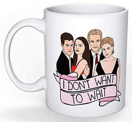 Dawson's Creek Tasse (Nostalgie 90er Jahre, perfektes Geschenk Teenager-Gossip Girl The OC Party of Five Buffy Melrose Place 90210 TV-Show) -