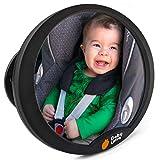 Rücksitzspiegel für Babys Autospiegel Baby - Bruchsicheres Acryl-Glas Babyspiegel Auto Zubehör