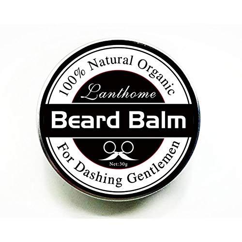 1PC Barba Bigote Cera Profesional Barba Bálsamo Barba