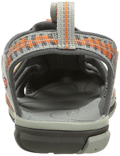 Keen Clearwater CNX M, Sandali da Escursionismo Uomo Grigio (Neutral Gray/Burnt Ochr)