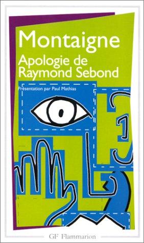 Apologie de Raymond Sebond