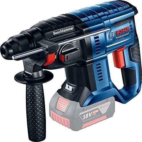 Bosch Professional 0611911000 Perforateur sans Fil Sds-Plus Gbh, Noir/Bleu/Rouge, (Sans Batterie et...