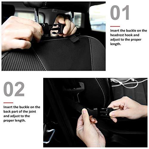 Zoom IMG-2 2 pezzi protezione sedile auto