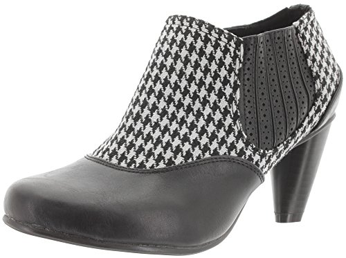 Banned Chelsea Boots MARION BND048 black-houndstooth Black-Houndstooth