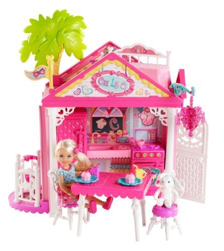 Chelsea-zubehör-set (Mattel Barbie BDG50 - Puppe, Fab Family Chelsea Haus Spielset)