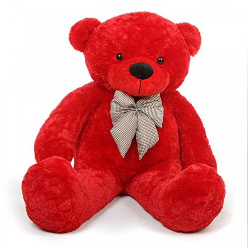 Big-Soft-Teddy-Bear-4-Feet-Long-Pink-122-Cm-Best-for-Birthday-Gift